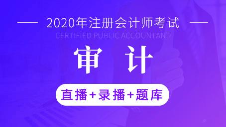 2020年注册ManBetXapp下载师-审计(直播+录播+题库)