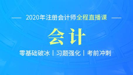 2020年注会ManBetXapp下载习题强化第九讲